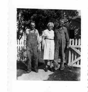3 of Lenora Allen's children: William, Anna, and Claude